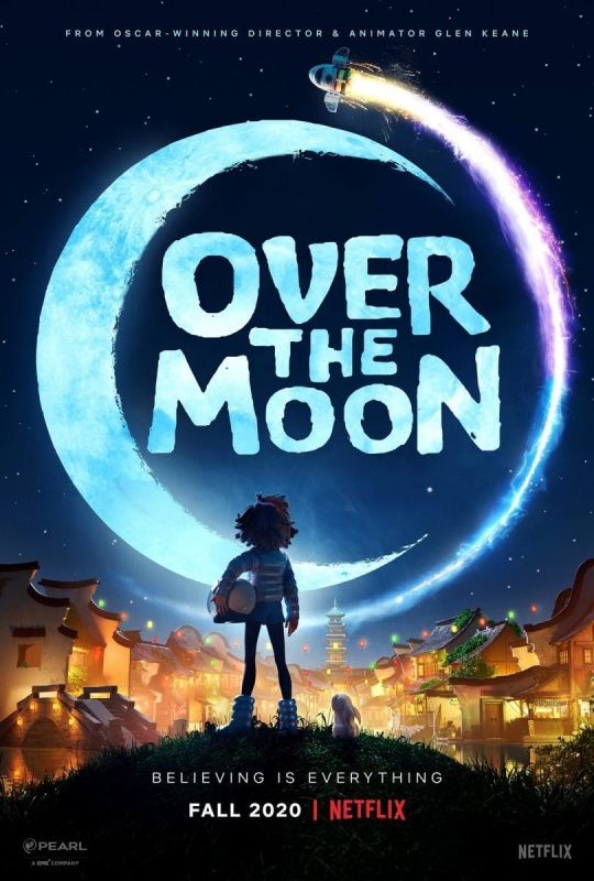 Over the Moon (2020) 720p HEVC WEB-HD Dual Audio [Hindi-Eng] x265 540MB