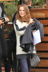 Natalie Portman - Out for lunch in Los Angeles 1/17/19