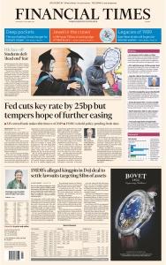 Financial Times Europe - 31 10 (2019)