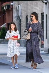 Katie Holmes - With her daughter Suri out in Soho, New York City 08/30/2018