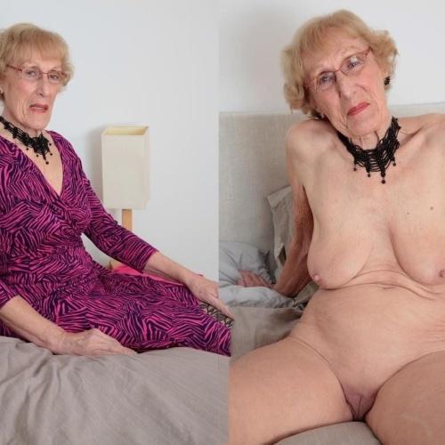Sexy dressed granny pics