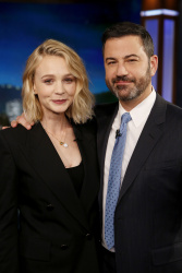 Carey Mulligan - Jimmy Kimmel Live: November 7th 2017
