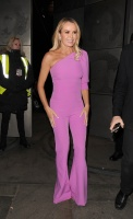Amanda Holden -      Leaving ''Britain's Got Talent'' Auditions London Palladium January 20th 2020.