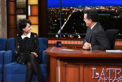 Constance Zimmer - The Late Show with Stephen Colbert: February 22nd 2018