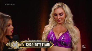 Charlotte Flair vs Nia Jax vs Natalya 5/25/20 Captures