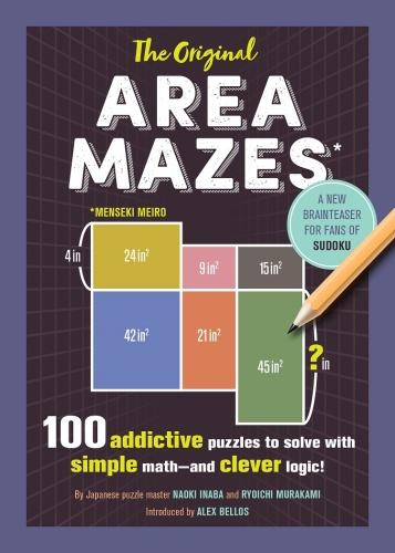 The Original Area Mazes   100 Addictive Puzzles