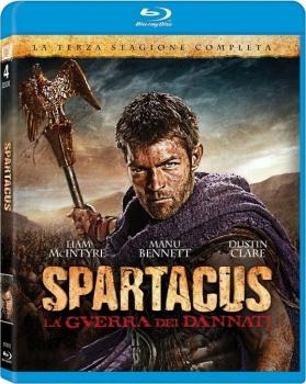 Spartacus - La guerra dei dannati - Stagione 3 (2013) [4-Blu-Ray] Full Blu ray 155Gb AVC ITA ENG FRE GER SPA DTS-HD MA 5.1