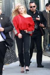 Chloe Moretz Arriving at Jimmy Kimmel Live! in Hollywood, CA - 2/26/19