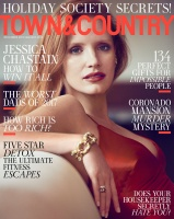 Jessica Chastain - Town&Country December 2017/January 2018