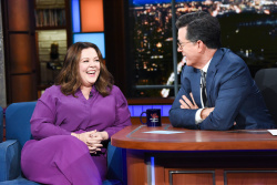 Melissa McCarthy - The Late Show with Stephen Colbert: October 15th 2018