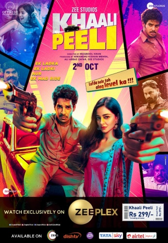 Khaali Peeli (2020) 1080p WEB-DL AVC AAC [Multi Audio][Hindi+Telugu+Tamil] BollywoodA2z