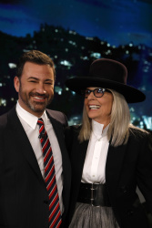 Diane Keaton - Jimmy Kimmel Live: May 16th 2018