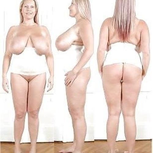 Nude women body art