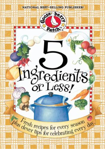 5 Ingredients or Less Cookbook