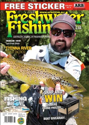 Freshwater Fishing Australia - Issue 159 - January-February (2020)