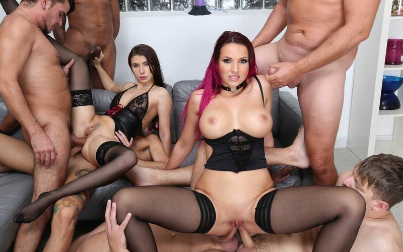 ATM Queens, Nicole Black and Jolee Love #2 Orgy with Monsters Gapes, Balls Deep Anal, DAP, ATOGM and Swallow GIO1626 [HD 720P]