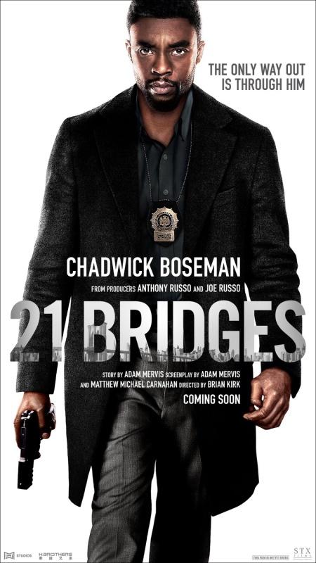 21 Bridges 2019 1080p WEBRip 1400MB DD5 1 x264-GalaxyRG