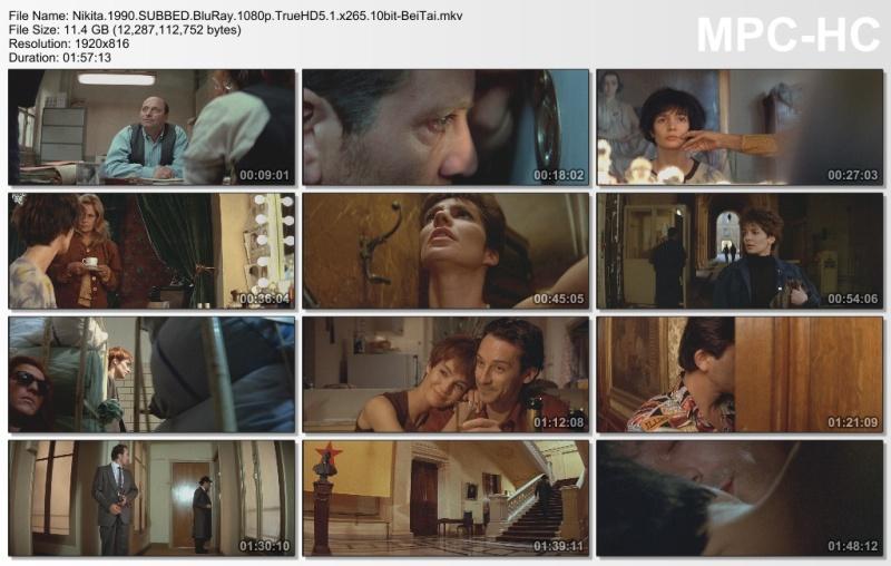 Nikita 1990 BluRay 1080p TrueHD5.1 x265 10bit-BeiTai screenshots