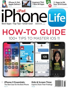 iPhone Life Magazine  December 29 (2017)