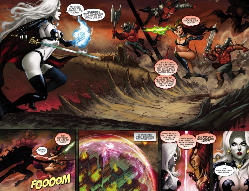 Lady Death (Chapter 07)   Apocalyptic Abyss  (2018)  (DR & Q