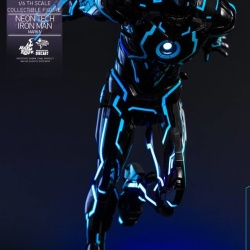 "Iron Man 2 - Mark IV Neon Tech ""Toy Flair Exclusive 2018"" 1/6 (Hot Toys) WKMASnWB_t"