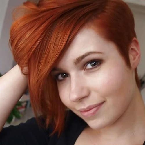 Baby short hair style girl