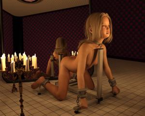 [Bobuzi] Candlelight bondage
