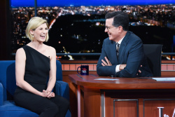 Jodie Whittaker - The Late Show with Stephen Colbert: October 3rd 2018