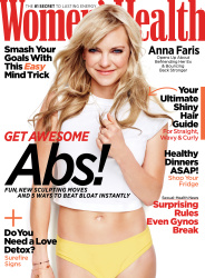 Anna Faris Women's Health May '18