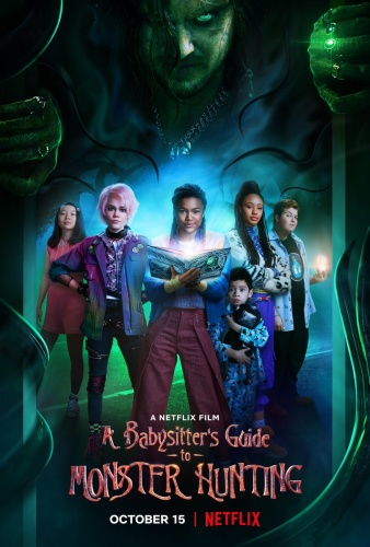 A Babysitters Guide to Monster Hunting (2020) 720p BluRay x264 [Dual][Hindi+English]