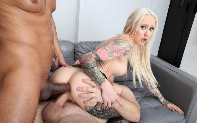 My first DP, Ivy Maddox Balls Deep Anal, DP, Gapes, almost Buttrose and Swallow GL369 [HD 720P]