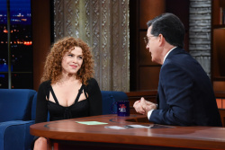Bernadette Peters - The Late Show with Stephen Colbert: February 5th 2018