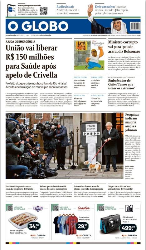 O Globo - 13 12 (2019)