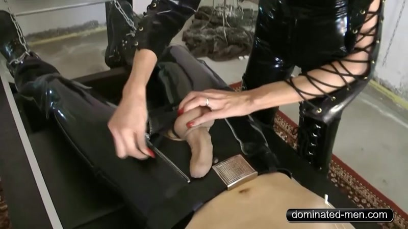 Mistress Zita starring in video (Art of Domination Part2) of (Dominated Men) studio [HD 720P]