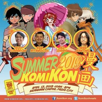 Summer Komikon 2019