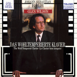 Bach   The Well Tempered Clavier Book I   IV   Glenn Wilson, Harpsichord (4CDs)
