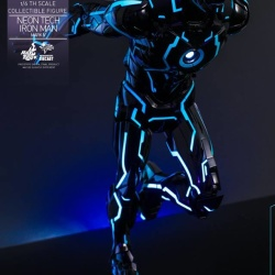 "Iron Man 2 - Mark IV Neon Tech ""Toy Flair Exclusive 2018"" 1/6 (Hot Toys) L2tA7LGL_t"