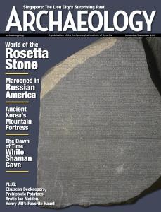 Archaeology Magazine  November-December (2017)