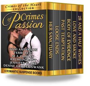 Toni Anderson-Crimes of Passion Box Set