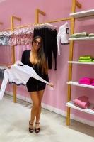 Claudia Romani -     Pretty Little Thing Showroom Miami March 9th 2020.