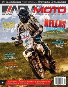 Adventure Motorcycle ADVMoto - November-December (2019)