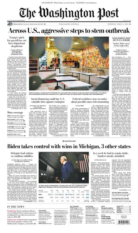 The Washington Post - 11 03 (2020)