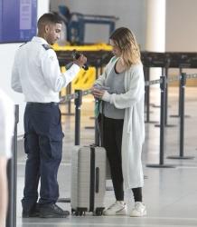 Rachel Bilson - At the Airport in Toronto 06/25/2019