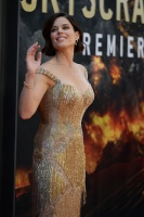 Neve Campbell - 'Skyscraper' Premiere in New York City 7/10/18