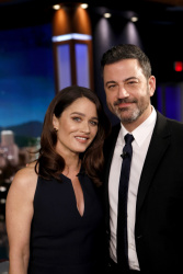 Robin Tunney - Jimmy Kimmel Live: March 5th 2019