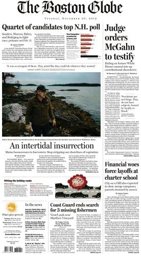The Boston Globe - 26 11 (2019)