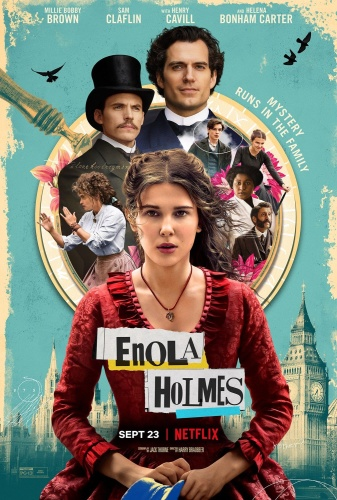 Enola Holmes (2020) 720p WEBRip x264 AAC 5 1 [Dual Audio][Hindi+English] TT Exclusive