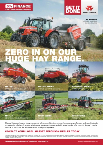 Farms and Farm Machinery - January (2020)