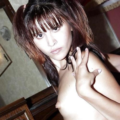Asian natural breasts