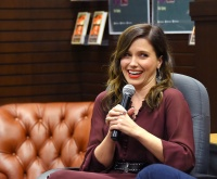 Sophia Bush -            ''AZ and the Lost City of Ophir'' Book Discussion Los Angeles February 13th 2019.